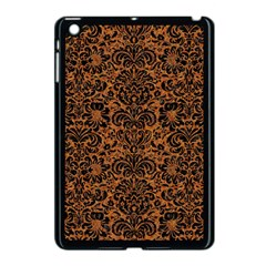 Damask2 Black Marble & Rusted Metal Apple Ipad Mini Case (black)
