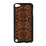 DAMASK2 BLACK MARBLE & RUSTED METAL Apple iPod Touch 5 Case (Black) Front