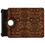 DAMASK2 BLACK MARBLE & RUSTED METAL Kindle Fire HD 7  Front