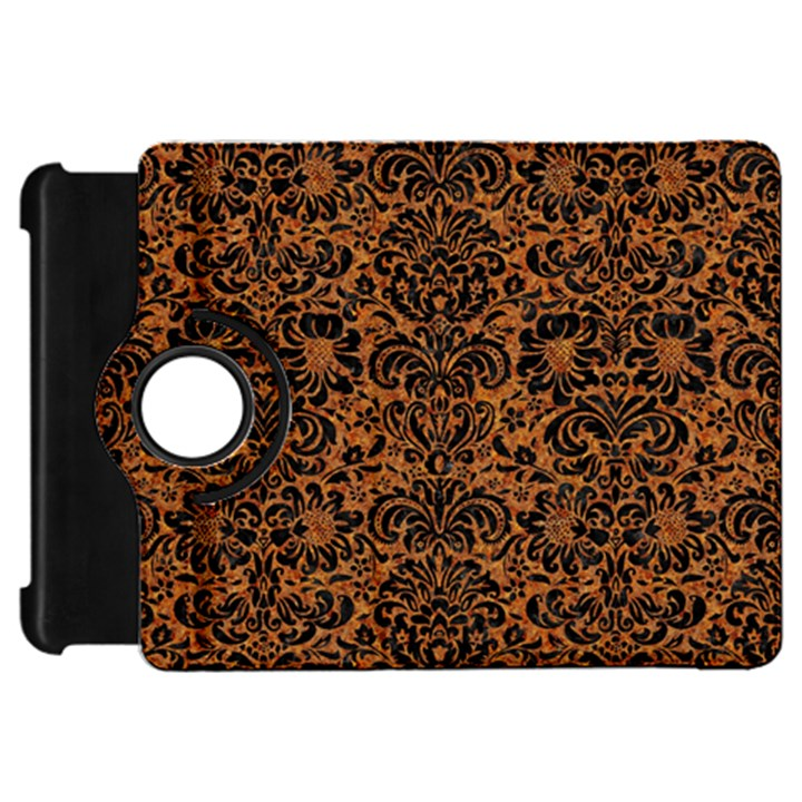 DAMASK2 BLACK MARBLE & RUSTED METAL Kindle Fire HD 7