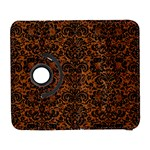 DAMASK2 BLACK MARBLE & RUSTED METAL Galaxy S3 (Flip/Folio) Front