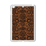 DAMASK2 BLACK MARBLE & RUSTED METAL iPad Mini 2 Enamel Coated Cases Front