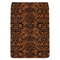 Damask2 Black Marble & Rusted Metal Flap Covers (l)