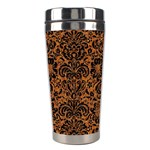 DAMASK2 BLACK MARBLE & RUSTED METAL Stainless Steel Travel Tumblers Center