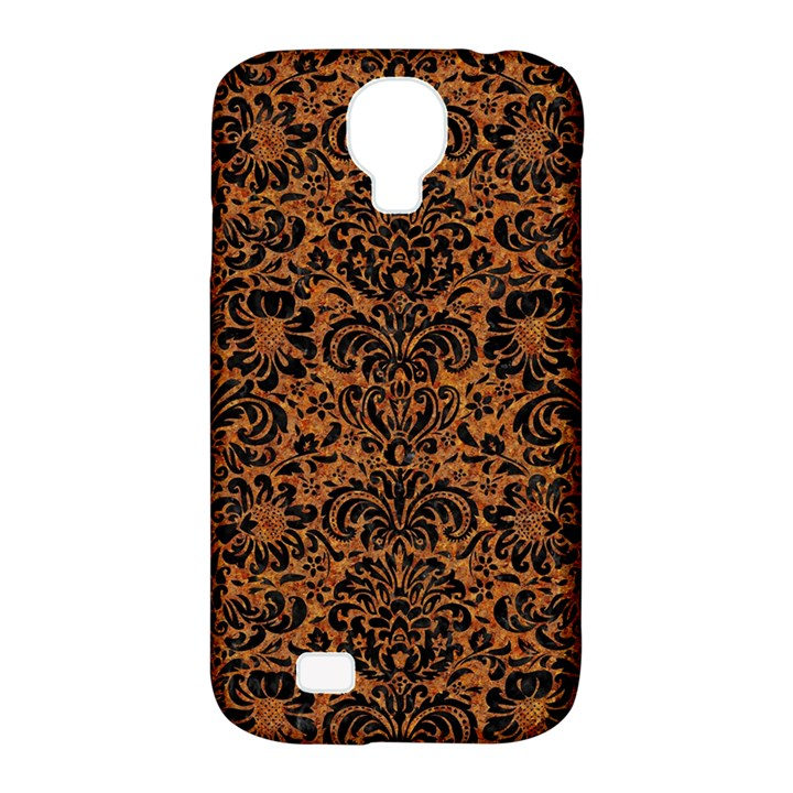 DAMASK2 BLACK MARBLE & RUSTED METAL Samsung Galaxy S4 Classic Hardshell Case (PC+Silicone)