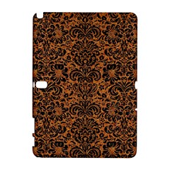 Damask2 Black Marble & Rusted Metal Galaxy Note 1