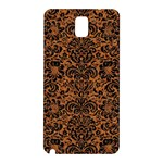 DAMASK2 BLACK MARBLE & RUSTED METAL Samsung Galaxy Note 3 N9005 Hardshell Back Case Front