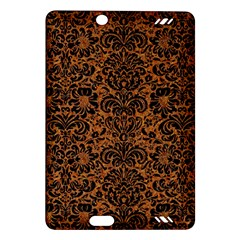 Damask2 Black Marble & Rusted Metal Amazon Kindle Fire Hd (2013) Hardshell Case