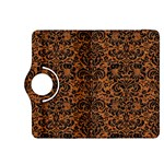 DAMASK2 BLACK MARBLE & RUSTED METAL Kindle Fire HDX 8.9  Flip 360 Case Front