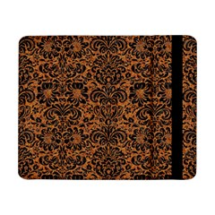 Damask2 Black Marble & Rusted Metal Samsung Galaxy Tab Pro 8 4  Flip Case