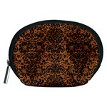 DAMASK2 BLACK MARBLE & RUSTED METAL Accessory Pouches (Medium)  Front