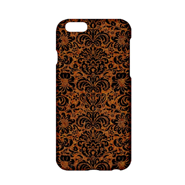 DAMASK2 BLACK MARBLE & RUSTED METAL Apple iPhone 6/6S Hardshell Case