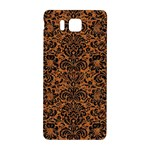 DAMASK2 BLACK MARBLE & RUSTED METAL Samsung Galaxy Alpha Hardshell Back Case Front