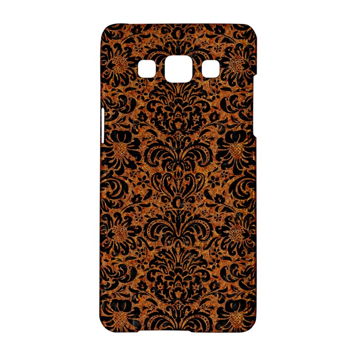 DAMASK2 BLACK MARBLE & RUSTED METAL Samsung Galaxy A5 Hardshell Case