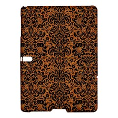 Damask2 Black Marble & Rusted Metal Samsung Galaxy Tab S (10 5 ) Hardshell Case