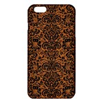 DAMASK2 BLACK MARBLE & RUSTED METAL iPhone 6 Plus/6S Plus TPU Case Front