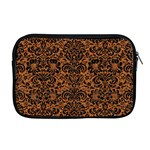 DAMASK2 BLACK MARBLE & RUSTED METAL Apple MacBook Pro 17  Zipper Case Front