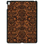 DAMASK2 BLACK MARBLE & RUSTED METAL Apple iPad Pro 9.7   Black Seamless Case Front