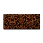 DAMASK2 BLACK MARBLE & RUSTED METAL (R) Cosmetic Storage Cases Front