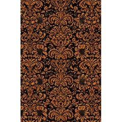Damask2 Black Marble & Rusted Metal (r) 5 5  X 8 5  Notebooks