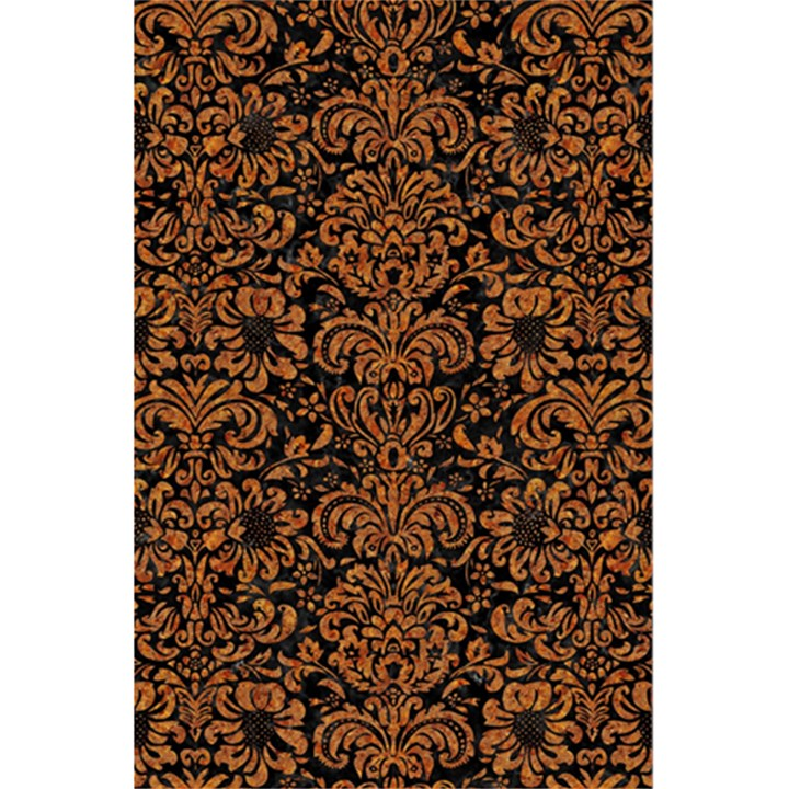 DAMASK2 BLACK MARBLE & RUSTED METAL (R) 5.5  x 8.5  Notebooks
