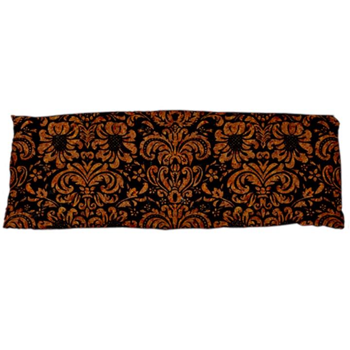 DAMASK2 BLACK MARBLE & RUSTED METAL (R) Body Pillow Case (Dakimakura)