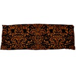 DAMASK2 BLACK MARBLE & RUSTED METAL (R) Body Pillow Case Dakimakura (Two Sides) Back