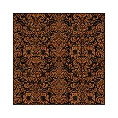 Damask2 Black Marble & Rusted Metal (r) Acrylic Tangram Puzzle (6  X 6 )