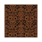 DAMASK2 BLACK MARBLE & RUSTED METAL (R) Acrylic Tangram Puzzle (6  x 6 ) Front