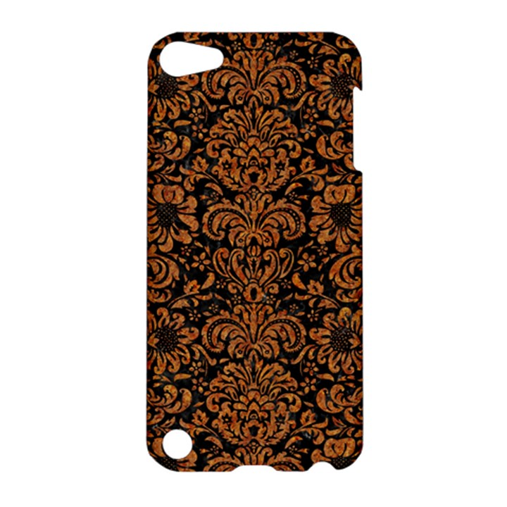 DAMASK2 BLACK MARBLE & RUSTED METAL (R) Apple iPod Touch 5 Hardshell Case
