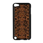DAMASK2 BLACK MARBLE & RUSTED METAL (R) Apple iPod Touch 5 Case (Black) Front