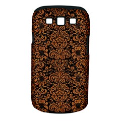 Damask2 Black Marble & Rusted Metal (r) Samsung Galaxy S Iii Classic Hardshell Case (pc+silicone)