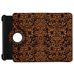 DAMASK2 BLACK MARBLE & RUSTED METAL (R) Kindle Fire HD 7  Front