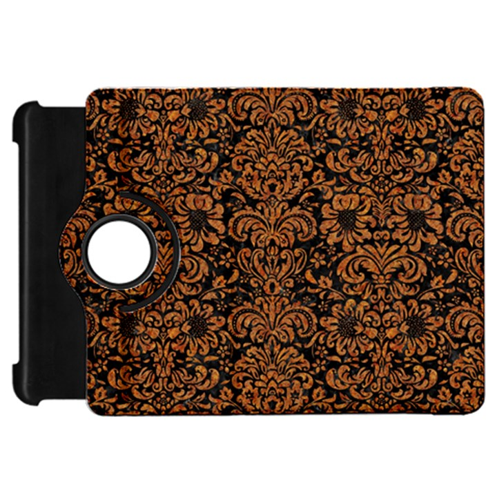 DAMASK2 BLACK MARBLE & RUSTED METAL (R) Kindle Fire HD 7