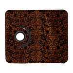 DAMASK2 BLACK MARBLE & RUSTED METAL (R) Galaxy S3 (Flip/Folio) Front