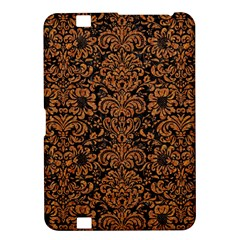Damask2 Black Marble & Rusted Metal (r) Kindle Fire Hd 8 9