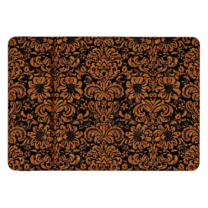 DAMASK2 BLACK MARBLE & RUSTED METAL (R) Samsung Galaxy Tab 8.9  P7300 Flip Case