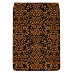 DAMASK2 BLACK MARBLE & RUSTED METAL (R) Flap Covers (L)  Front