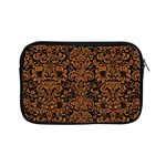 DAMASK2 BLACK MARBLE & RUSTED METAL (R) Apple iPad Mini Zipper Cases Front
