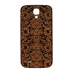 Damask2 Black Marble & Rusted Metal (r) Samsung Galaxy S4 I9500/i9505  Hardshell Back Case