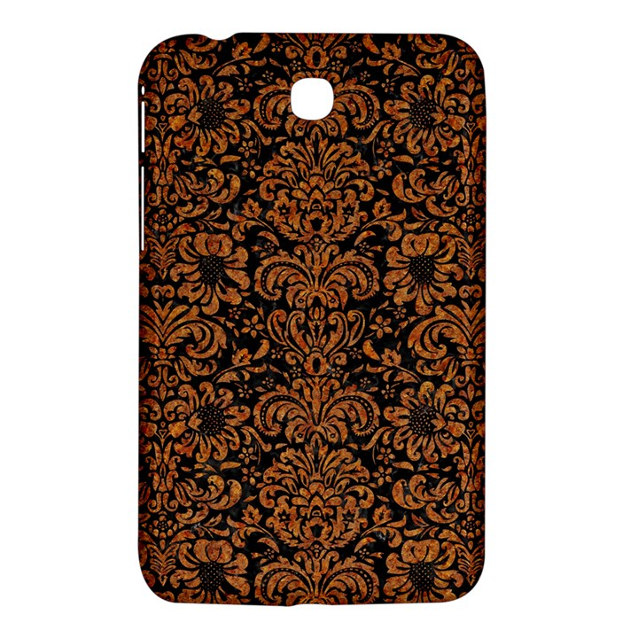 DAMASK2 BLACK MARBLE & RUSTED METAL (R) Samsung Galaxy Tab 3 (7 ) P3200 Hardshell Case