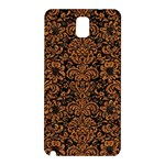 DAMASK2 BLACK MARBLE & RUSTED METAL (R) Samsung Galaxy Note 3 N9005 Hardshell Back Case Front