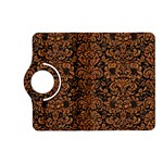 DAMASK2 BLACK MARBLE & RUSTED METAL (R) Kindle Fire HD (2013) Flip 360 Case Front