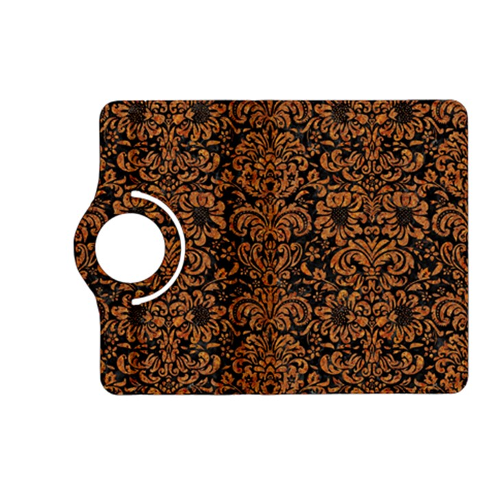 DAMASK2 BLACK MARBLE & RUSTED METAL (R) Kindle Fire HD (2013) Flip 360 Case