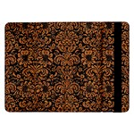 DAMASK2 BLACK MARBLE & RUSTED METAL (R) Samsung Galaxy Tab Pro 12.2  Flip Case Front