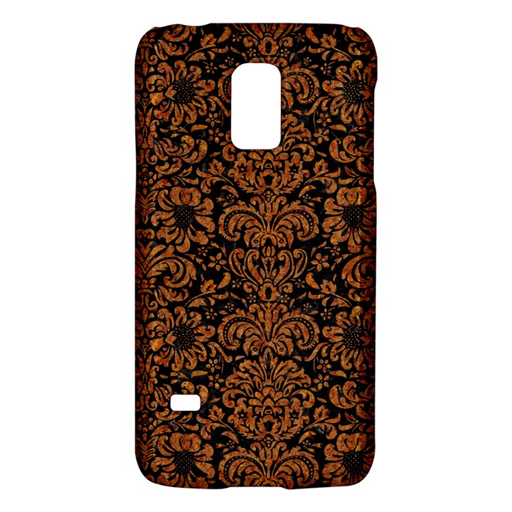 DAMASK2 BLACK MARBLE & RUSTED METAL (R) Galaxy S5 Mini