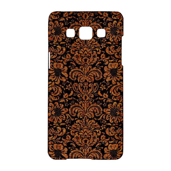 DAMASK2 BLACK MARBLE & RUSTED METAL (R) Samsung Galaxy A5 Hardshell Case