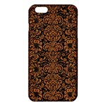 DAMASK2 BLACK MARBLE & RUSTED METAL (R) iPhone 6 Plus/6S Plus TPU Case Front