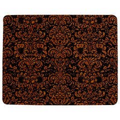 Damask2 Black Marble & Rusted Metal (r) Jigsaw Puzzle Photo Stand (rectangular)