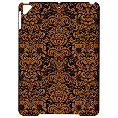 Damask2 Black Marble & Rusted Metal (r) Apple Ipad Pro 9 7   Hardshell Case